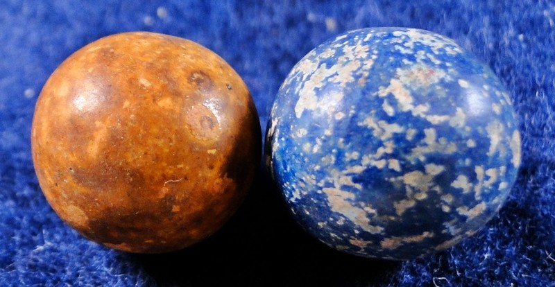 How do you identify and price vintage marbles?