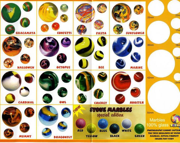 Names Of Marbles Gallery