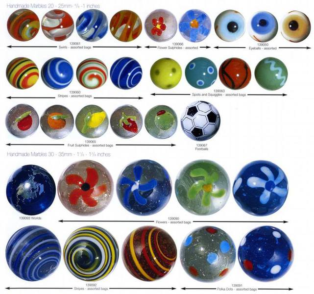 Marbles By Foreign Manufacturers